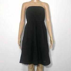 J Crew Strapless Cocktail Dress w/ Pockets Size 0